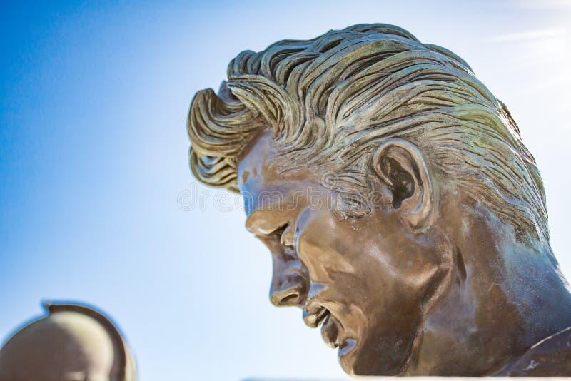 James Dean Memorial fotografie stock