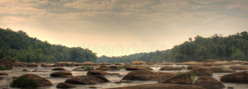 james flod arkivbild