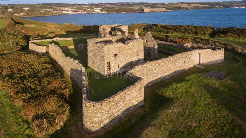 James Fort Kinsale Cortiça do condado ireland imagens de stock