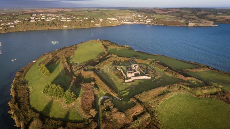 James Fort Kinsale Cortiça do condado ireland fotos de stock royalty free