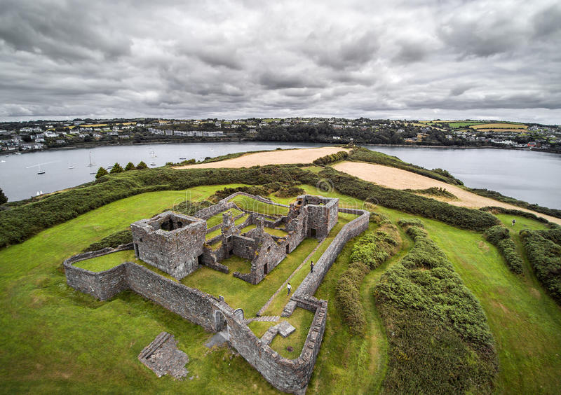 James Fort. In Kinsale, Ireland stock photos