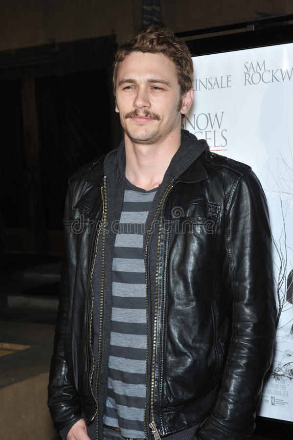 James Franco images stock