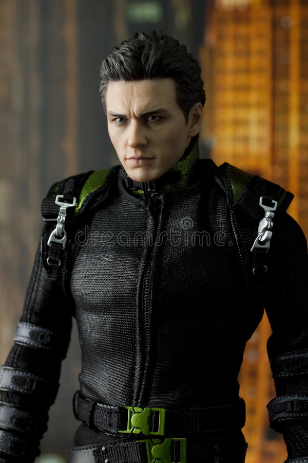 James Franco toy figure royalty free stock photography