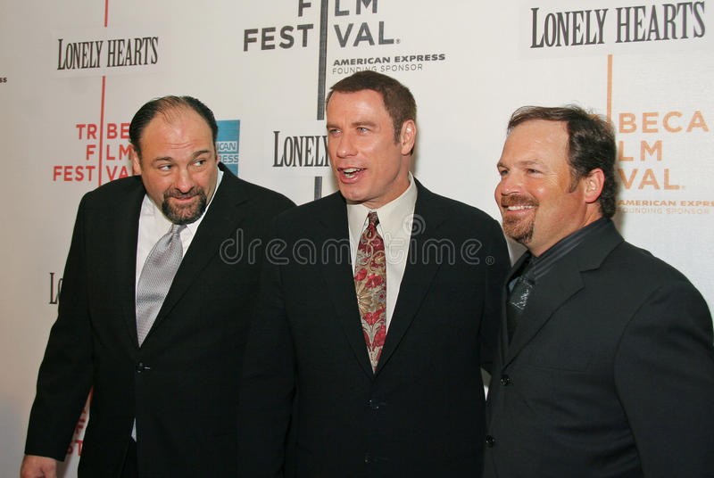 Download James Gandolfini, John Travolta I Todd Robinson, Obraz Editorial - Obraz: 31717200