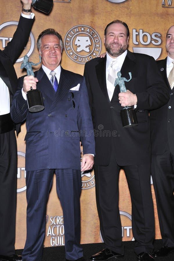 James Gandolfini, Tony Sirico