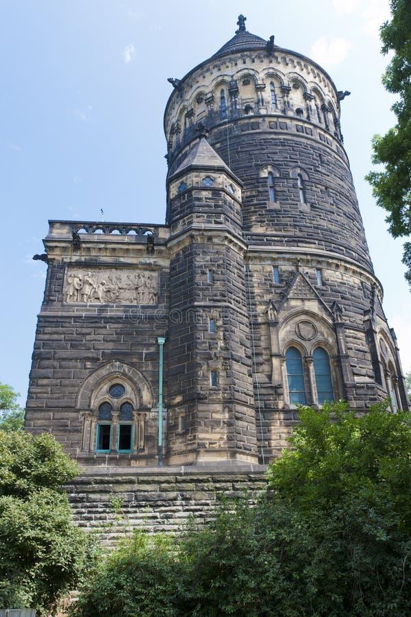 James A. Garfield Memorial. Cleveland, Ohio. royalty-vrije stock foto