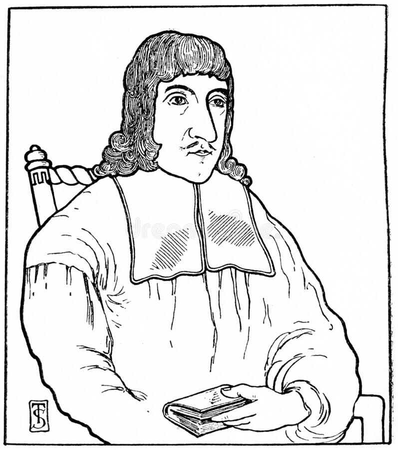James Guthrie Scottish Presbyterian Minister royalty illustrazione gratis
