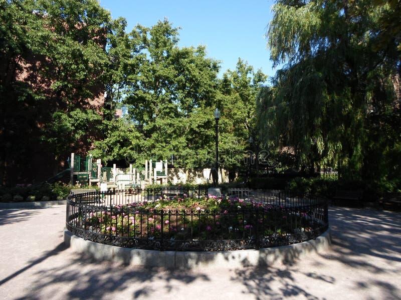 James Hayes Park, Boston, Massachusetts, los E.E.U.U. fotografía de archivo