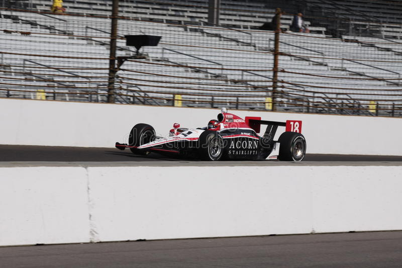 James Jakes Indianapolis 500 Pole Day Indy Editorial Photo