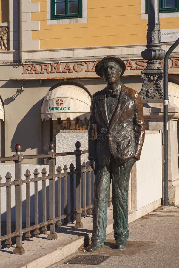 James Joyce, Trieste royalty free stock photography