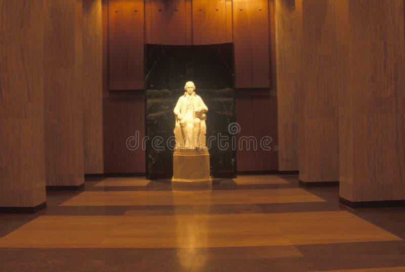 James Madison雕塑  免版税库存图片