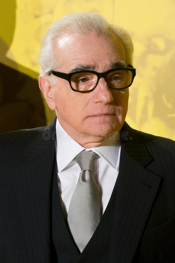James Martin Scorsese photo libre de droits