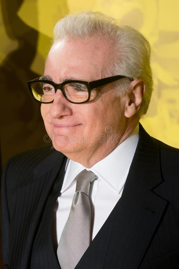 James Martin Scorsese photographie stock libre de droits