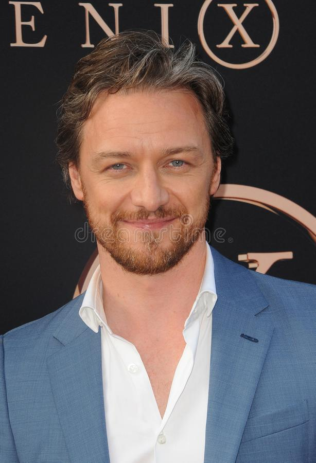 James McAvoy photographie stock libre de droits