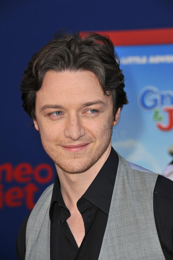James Mcavoy obrazy stock