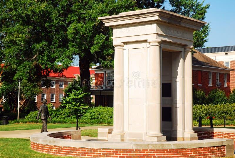 James Meredith Monument, Oxford, Mississippi photographie stock libre de droits