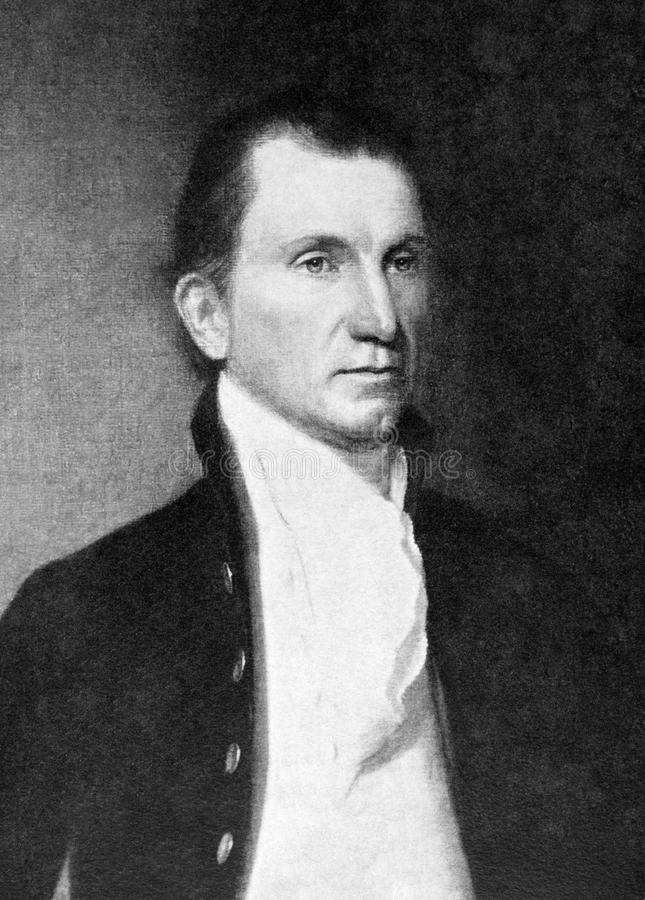James Monroe royaltyfria foton