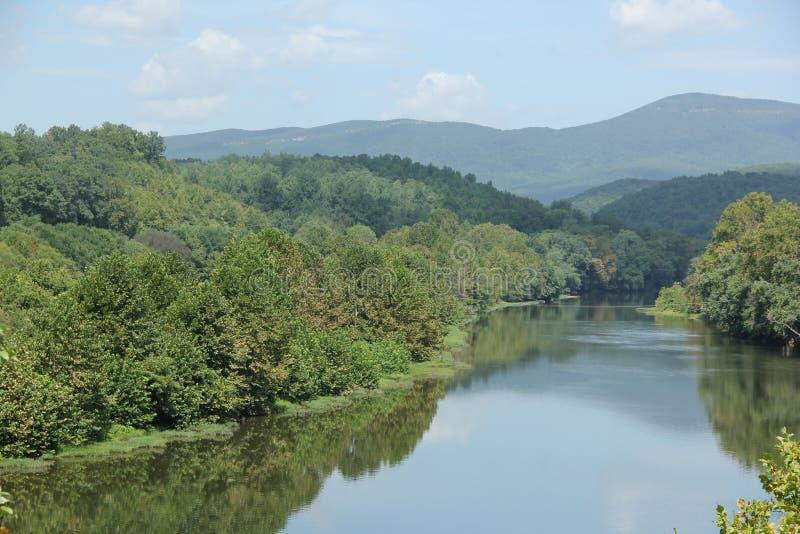 James River stockbilder