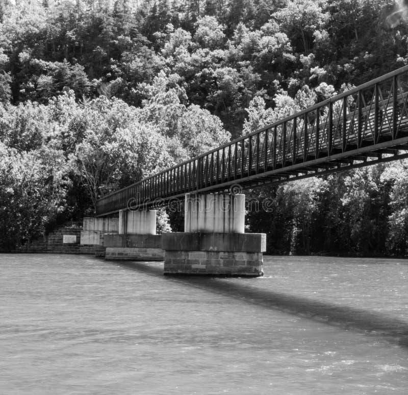 James River Footbridge fotografia de stock