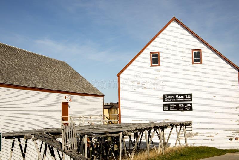 James Ryan Premises National Park Bonavista, Newfoundland, Cana royaltyfria bilder