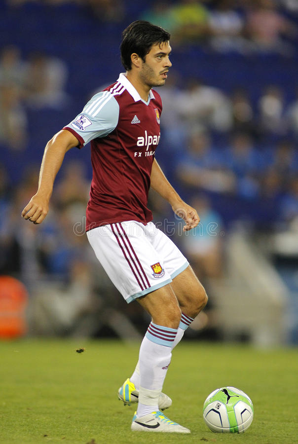 James Tomkins Of West Ham United Editorial Stock Photo