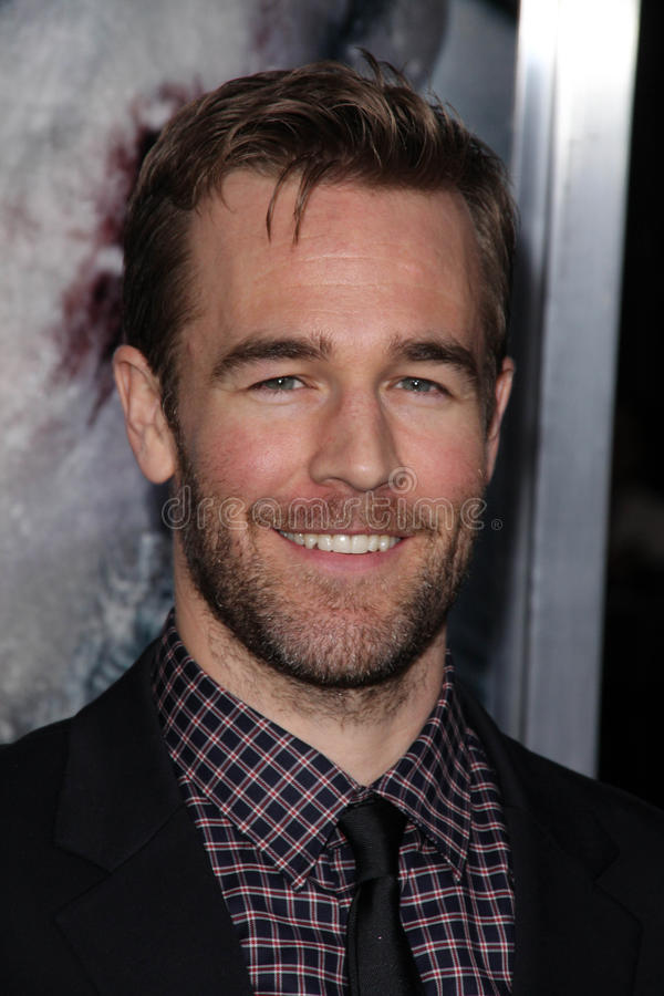 James Van Der Beek royalty free stock images