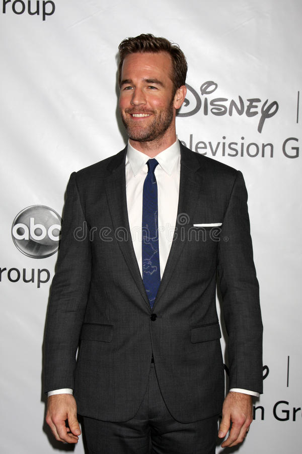 James Van Der Beek stockbild