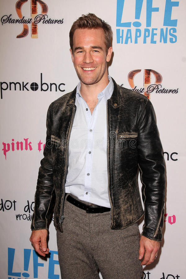 James Van Der Beek royalty free stock photo