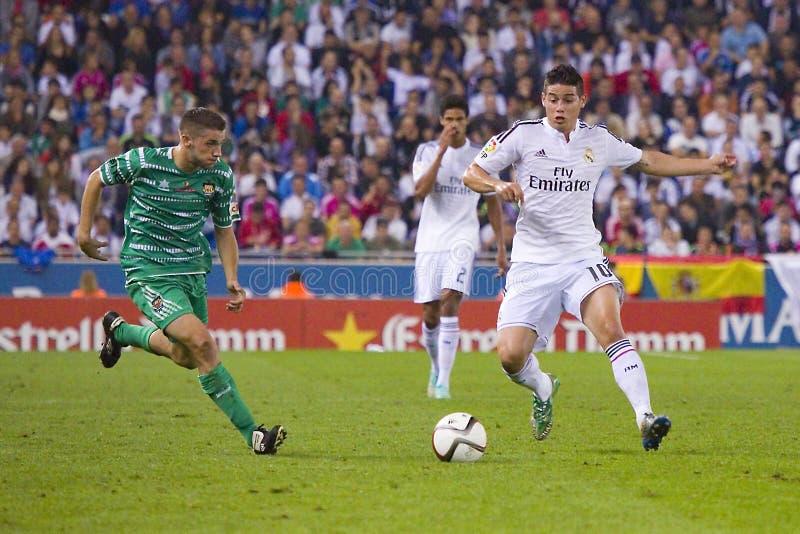 James von Real Madrid lizenzfreies stockbild