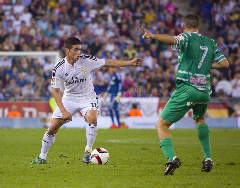 James von Real Madrid stockfoto