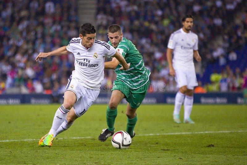 James von Real Madrid stockbilder