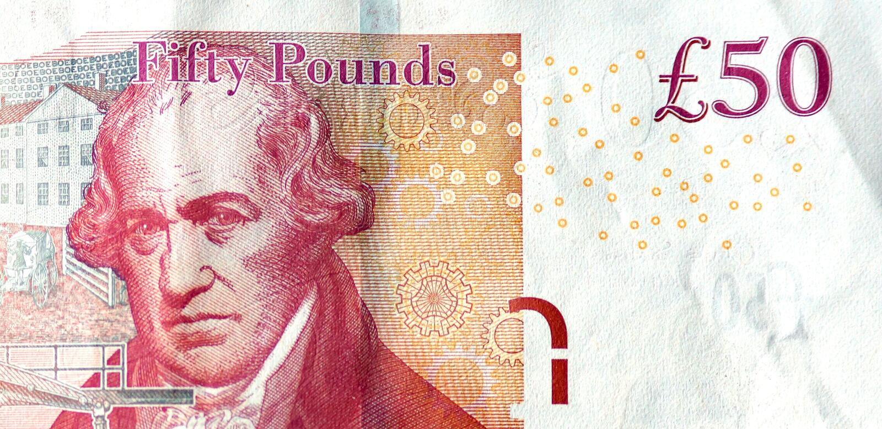 James Watt image libre de droits