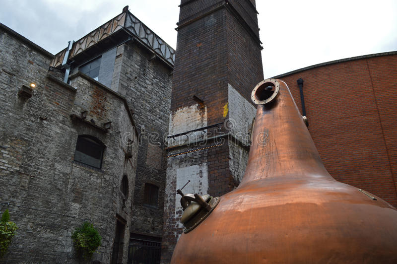 Jameson Distillery em Dublin fotografia de stock royalty free