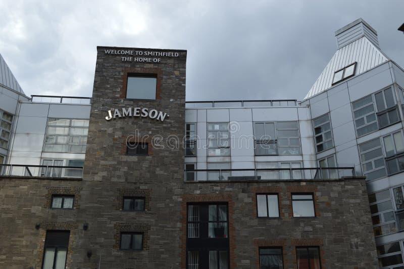 Jameson Distillery em Dublin fotos de stock