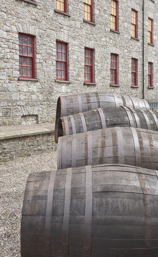 Jameson Distillery stock photo