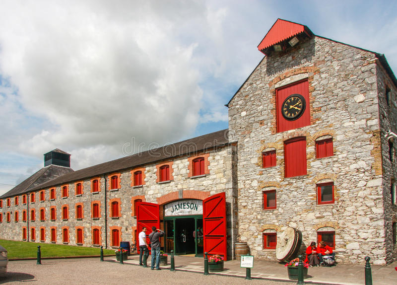 The Jameson Heritage Centre in Midleton Co. Cork. CORK, IRELAND - JUNE 20, 2008: The Jameson Heritage Centre in Midleton Co. Cork, 12 miles east of Cork City on royalty free stock photography