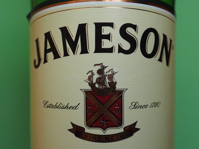 Jameson Irish Whiskey arkivfoton