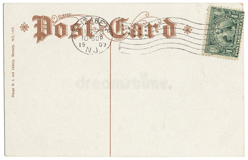 jamestown γραμματόσημο καρτών στοκ φωτογραφία με δικαίωμα ελεύθερης χρήσης