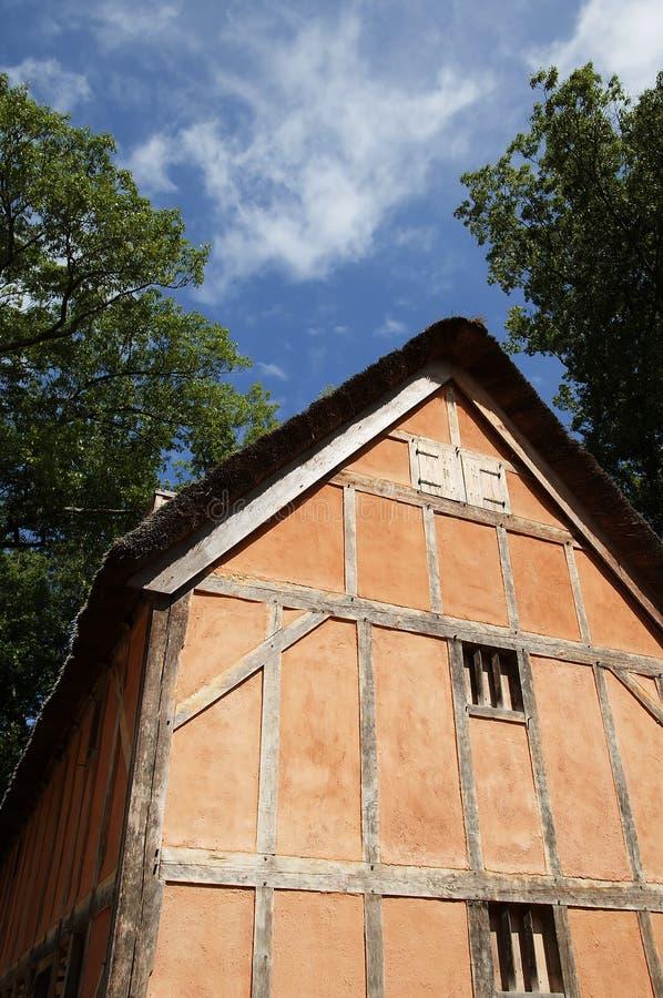 Jamestown histórico memorável em James River onde os colonos europeus os mais adiantados estabeleceram sua primeira colônia em Vi fotos de stock