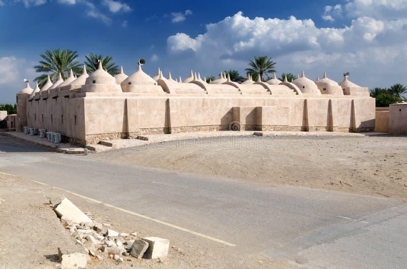 Jami al-Hamoda Mosque in Jalan Bani Bu Ali, sultanato dell'Oman fotografia stock