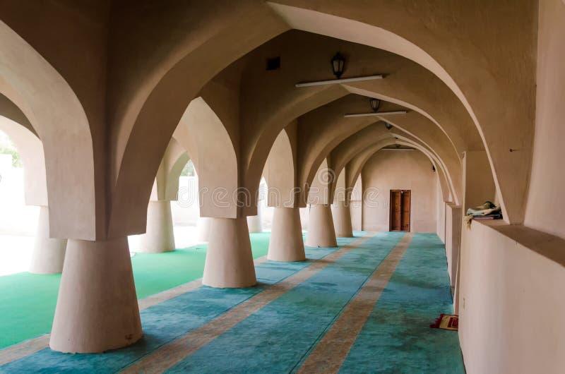 Jami al-Hamoda Mosque in Jalan Bani Bu Ali, sultanato dell'Oman fotografie stock