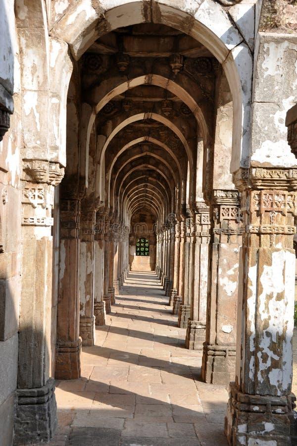 Jami Masjid, Champaner.Gujarat. zdjęcie stock