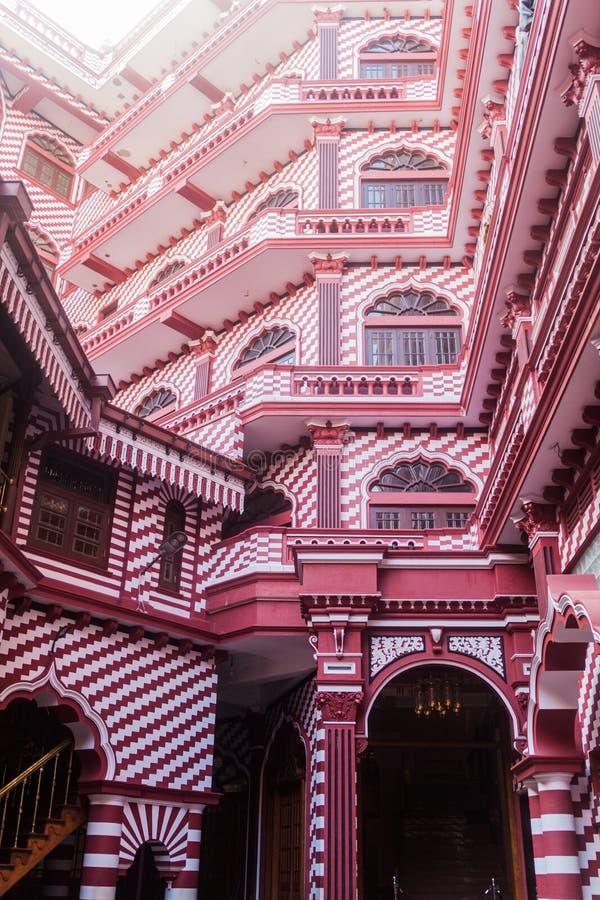 Jami ul meczet w Kolombo, Sri Lan zdjęcie stock