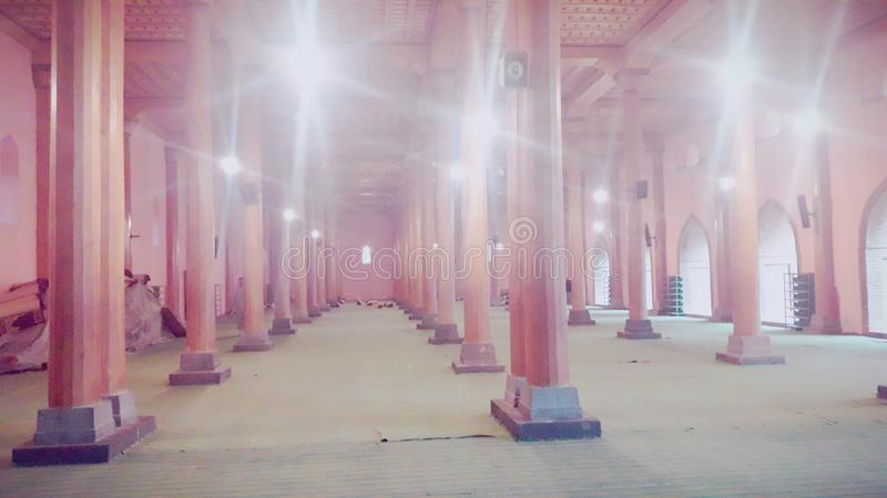 Jamia Masjid, Сринагар Кашмир стоковое фото rf
