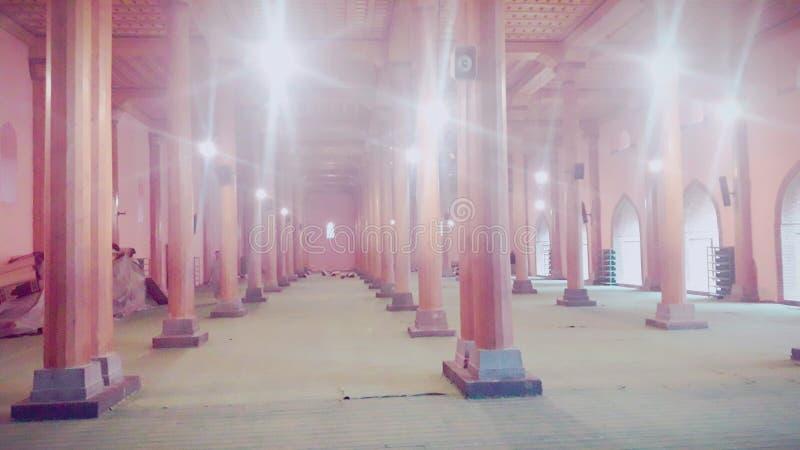 Jamia Masjid Srinagar kashmir royaltyfri foto