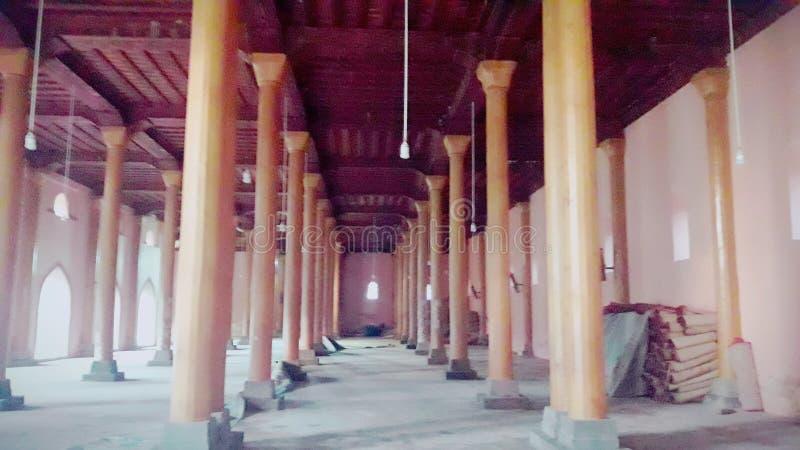 Jamia Masjid, Srinagar Kashmir obraz stock
