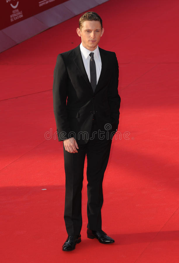 Jamie Bell. At premiere of The Adventures of Tin Tin at the 6th International Rome Film Festival. {month name}28, 2011, Rome, Italy Picture: Catchlight Media / royalty free stock photography