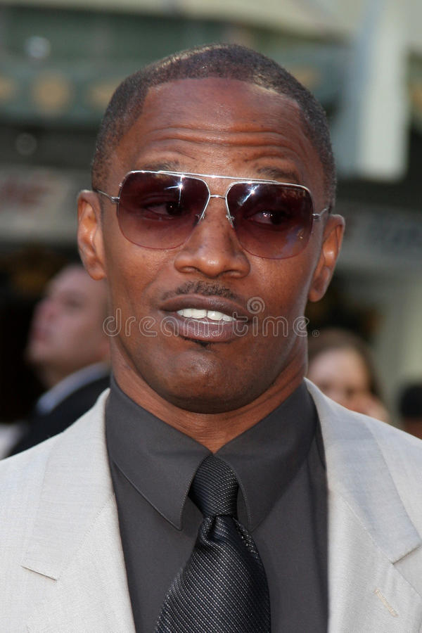 Download Jamie Foxx editorial photography. Image of graumans, angeles - 23928392