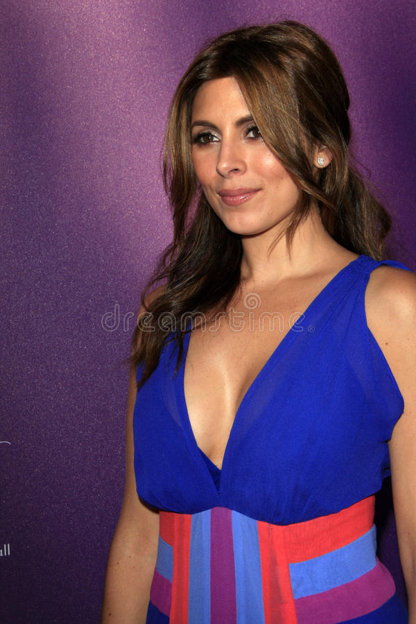 Jamie Lynn Sigler arriving at 11th Annual Chrysalis Butterfly Ball royalty free stock photos
