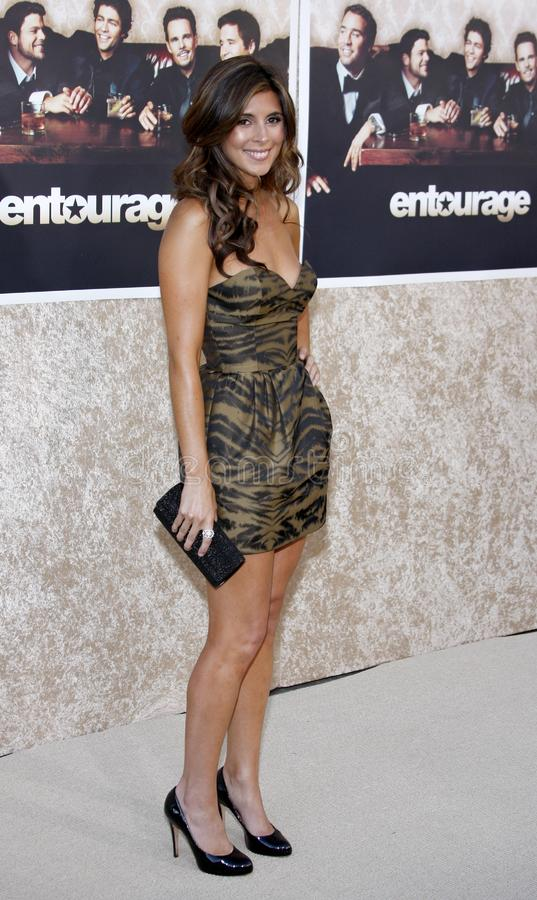 Jamie-Lynn Sigler. At the HBO`s Official Premiere of `Entourage` Season 6 held at the Paramount Pictures Studios in Hollywood, California, United States on July royalty free stock photography